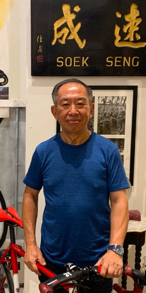 At 60, he opened a hidden bike cafe at Seletar airport where you can eat and watch planes take off