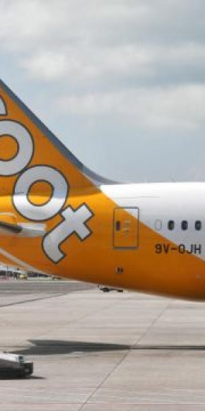 Man escorted off Scoot plane by auxiliary police at Changi Airport after refusing to follow instructions