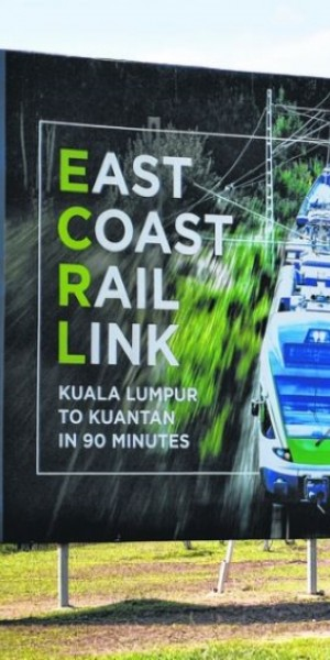 Malaysia seeks to reroute $14b East Coast Rail Link project under Belt and Road initiative
