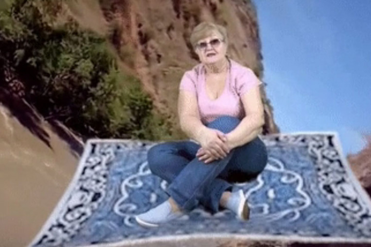 Russian granny steals YouTubes heart after mastering the