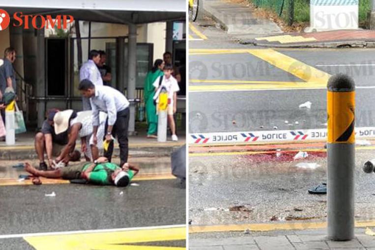 WATCH   Gramin Sewa driver attacks policemen with sword