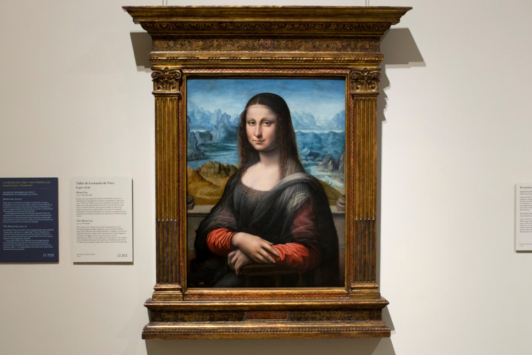 » Research Points to Nude Version of Mona Lisa - AO Art