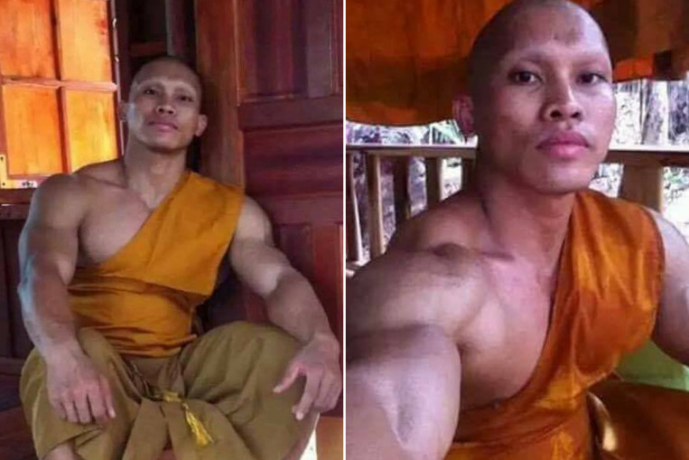 Latest hunk to melt hearts online is Thai bodybuilding