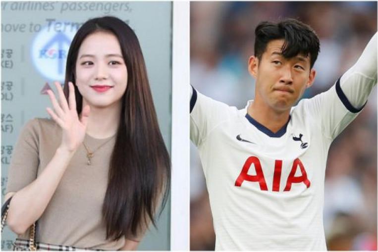 Blackpink Singer Jisoo Spurs Son Heung-min On In Tottenham