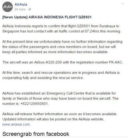 AirAsia plane crash caused by faulty component, crew action, Asia