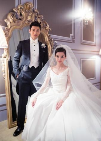 Castle-themed wedding fulfils Angelababy's princess dream, Women