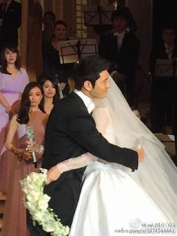 Castle-themed wedding fulfils Angelababy's princess dream, Women
