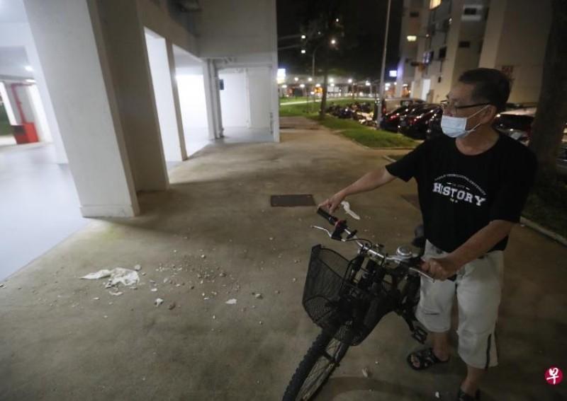 Man Nearly Hit By Concrete Slab