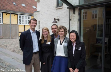 Singapore student shares study abroad experiences with Royal Danish Prince