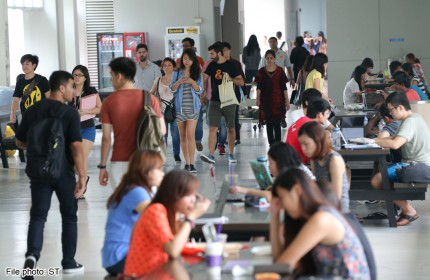 More parents in Singapore prefer kids to study in local universties