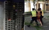 Man shouts for tenants to run after setting fire to his flat