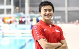 Swimming: He's focused on Rio