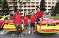 Singapore revs up in red for SEA games