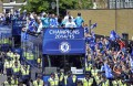 Football: Thousands flock to Chelsea victory parade