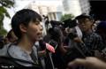 Hong Kong student leader Joshua Wong says police 'tried to hurt' him