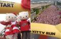 Inaugural Hello Kitty run celebrates character's 40th birthday
