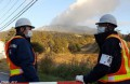 Fears over fresh eruption halt Japan volcano search