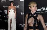 Rihanna, Miley Cyrus set tongues wagging at charity gala
