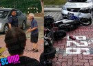 Elderly driver hits 5 vehicles carpark