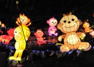 Chinatown's monkey lanterns up for grabs