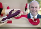Sex toy thrown at NZ minister on national day