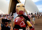 'Iron Boy' saves Sydney as Downey Jr tweets support