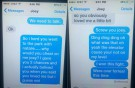 11-year-old's funny breakup text a hit online