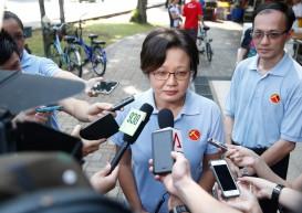 WP won't change line-up in Aljunied: Sylvia Lim