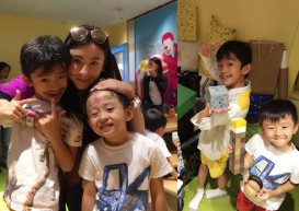Cecilia Cheung's sons agree to have younger sister on one condition