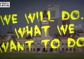 Cops investigating 'We will blast Malaysia!' video