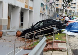 Carpark accident: Blood kept flowing from elderly victim's head