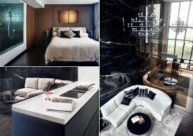 'Staycation' at home for couple with hotel-style house