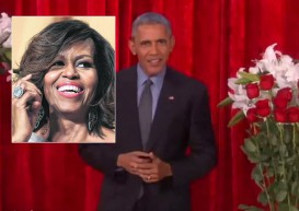 Barack and Michelle Obama express their love before Valentine's Day on TV