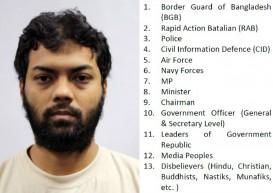 8 Bangladeshi men detained in Singapore; kill-list, bomb manual found