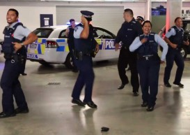 New Zealand cops' 'running man' video goes viral