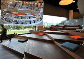 Brand new Pasir Ris library focuses on teens and digitally savvy