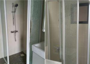 Two more complaints on glass shower panels shattering at premium development Trivelis