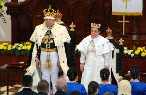 Tongan king crowned in traditional ceremony
