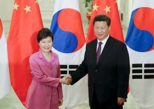 Park underlines Seoul's pivot to China