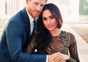 Prince Harry and Meghan bring in public for wedding