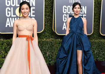 It wasn't just the Crazy and Rich Asians that shone on the red carpet of the 2019 Golden Globes