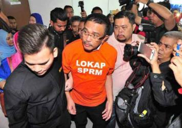 Johor state official charged with 33 counts of graft