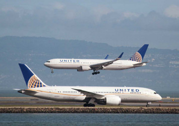 United Airlines apologises for flying Paris-bound passenger 4,800km in the wrong direction