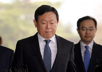 Lotte chairman charged in connection with corruption scandal