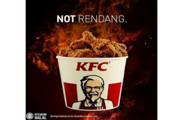 KFC Malaysia responds to 'Rendangate' with cheeky Instagram post