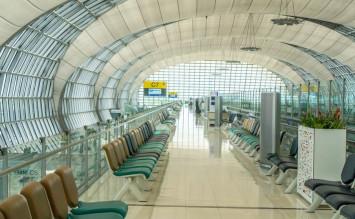 German man dies after suicide leap at Bangkok airport terminal