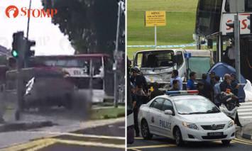 Video shows moment lorry fatally hits 3 pedestrians near Yio Chu Kang MRT station