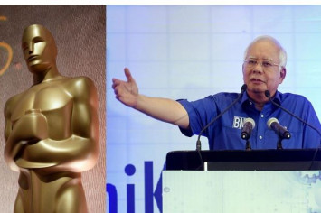 Najib: Dr Mahathir should get an Oscar for his acting