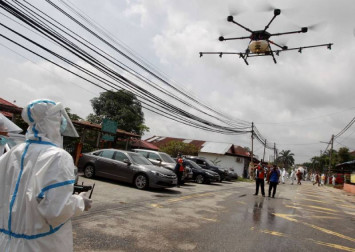 MCO in Malaysia: Cry havoc, and let loose the drones