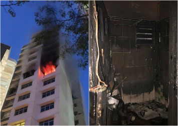 This made my day: $11,000 raised to help single mother after her Sengkang flat caught fire